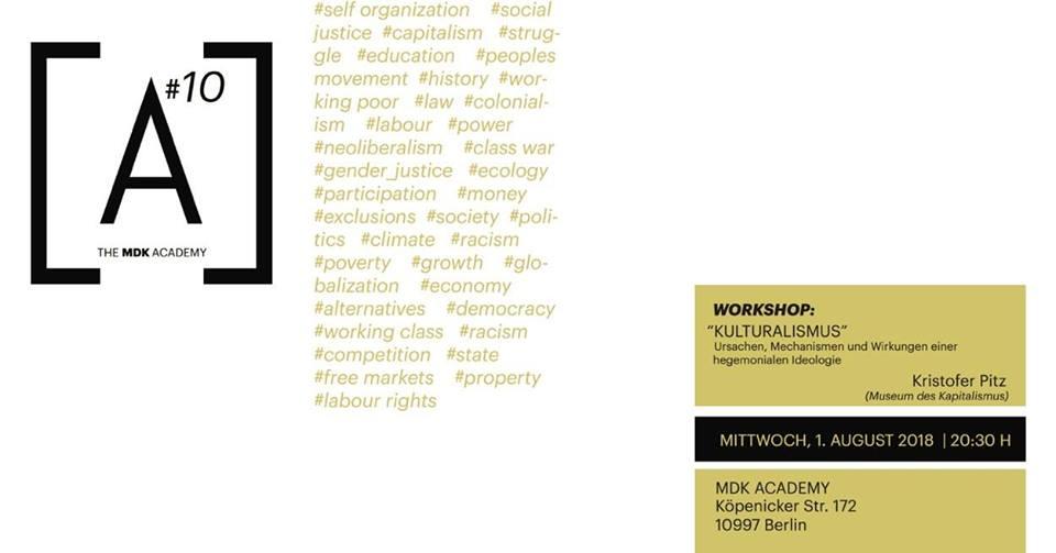 MDK Academy #10 - Museum of Capitalism